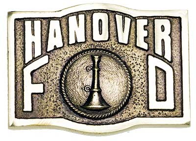 hanover county chain of command firefighter belt buckle