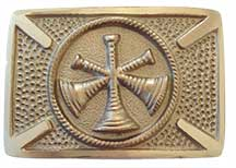 assistant chief chain of command firefighter belt buckle