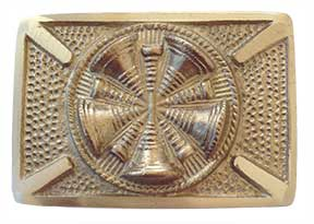 chief chain of command firefighter belt buckle